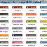 internet forumu rutbeleri